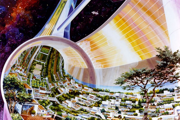 Mind-Boggling Colonized Space Settlements Of The Future From An Epic NASA Project Of The 1970's. This Is NOT Your Everyday Galactic Outpost, This Cosmic Colony Has Style!