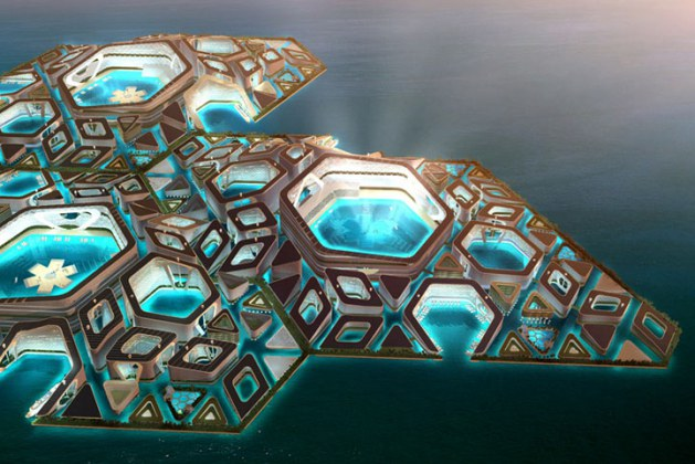 Atlantis Lost? Hardly! This Phenomenal Futuristic Floating City Could Soon Become a Reality. Check Out These Incredible Designs For An Enchanting Underwater Apartment Complex.