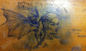 Mystery University Student Draws Replicas Of Artistic Masterpieces on Student Desks. These Are Really Fantastic Drawings But The Last One Is Truly Outstanding!